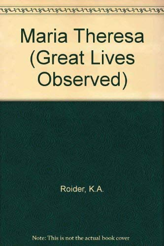 9780135561836: Maria Theresa (Great Lives Observed)