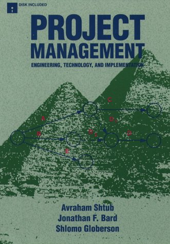 9780135564585: Project Management: Engineering, Technology and Implementation