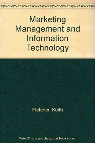 9780135565070: Marketing Management and Information Technology