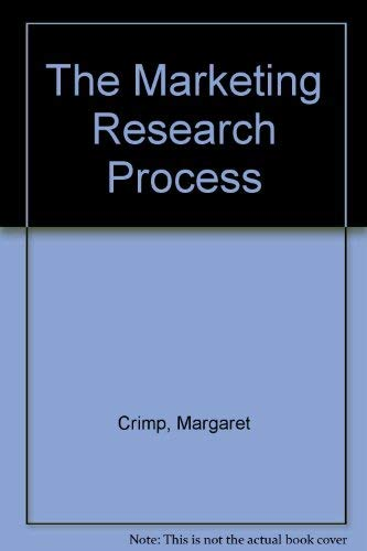 9780135565155: The Marketing Research Process