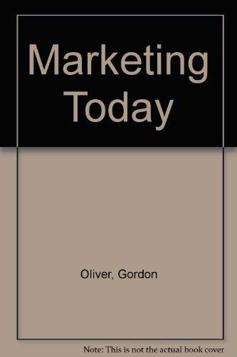 9780135566060: Marketing Today