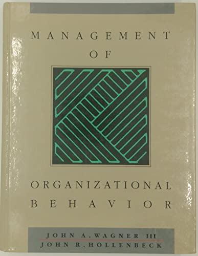 9780135566480: Management of Organizational Behaviour
