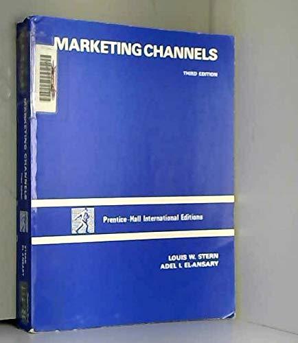 9780135568200: Marketing Channels