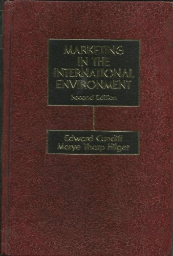 9780135573495: Marketing in the International Environment