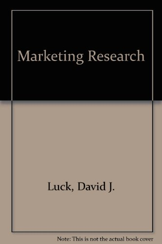 9780135575956: Marketing Research