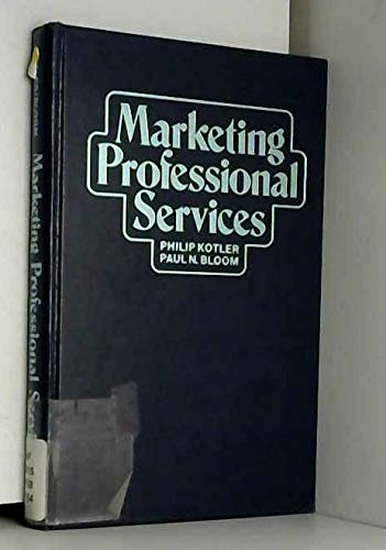 9780135576205: Marketing Professional Services
