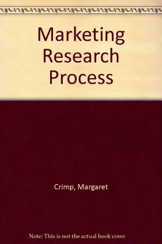 9780135577103: Marketing Research Process