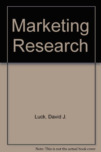 9780135578285: Marketing Research
