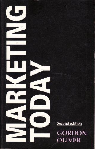 Marketing Today: Oliver, Gordon