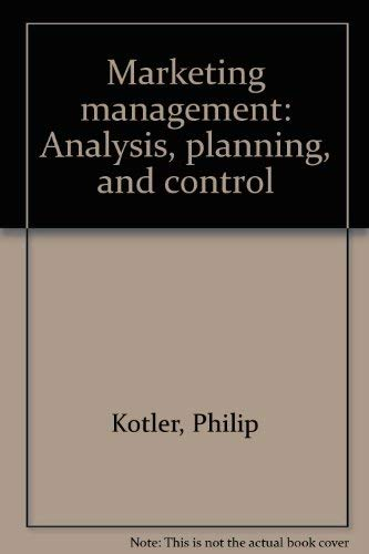 Philip Kotler Used Books Rare Books And New Books Page 10