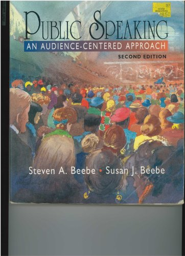 9780135582220: Public Speaking: An Audience-Centered Approach