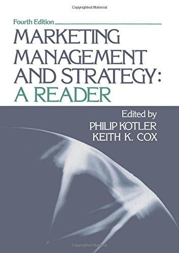 9780135584538: Marketing Management and Strategy: A Reader