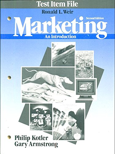 9780135588833: Marketing: An Introduction
