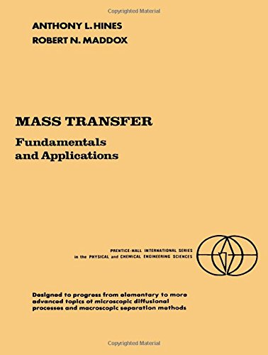 9780135596098: Mass Transfer: Fundamentals and Applications (Prentice-Hall International Series in the Physical and Chemical Engineering Sciences)