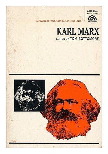 9780135597088: Karl Marx (Makers of Modern Social Science S.)