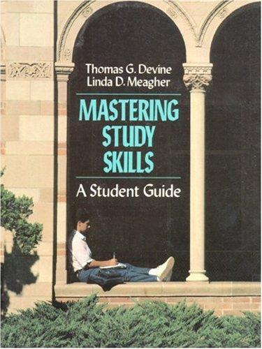 Mastering Study Skills: Thomas Devine