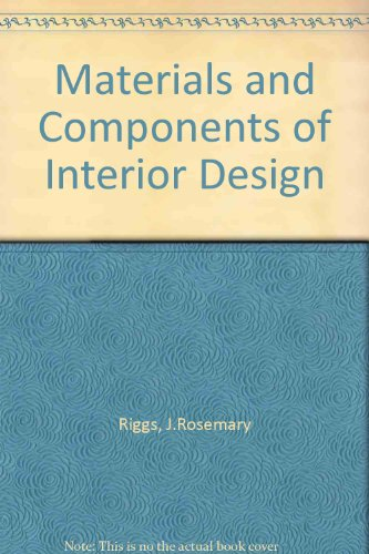 9780135601600: Materials and Components of Interior Design