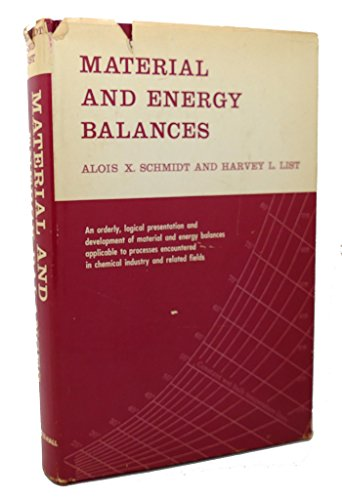 9780135602195: Material and Energy Balances