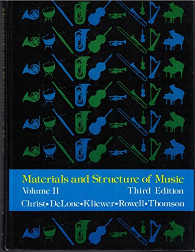 9780135604335: Materials and Structure of Music, Volume II