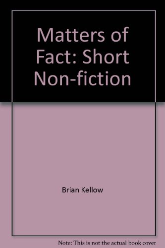 9780135608715: Matters of Fact: Short Non-fiction