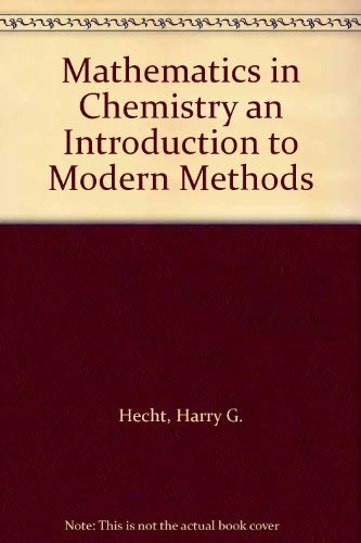 9780135610695: Mathematics in Chemistry an Introduction to Modern Methods