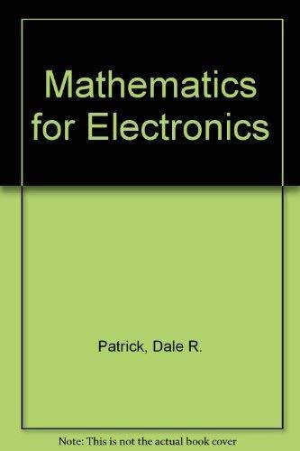 9780135612422: Math for Electronics: A Modern Approach