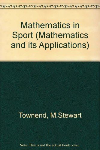9780135615072: Mathematics in Sport (Mathematics & Its Applications)