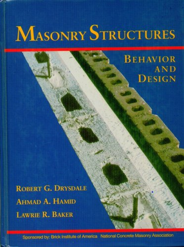 9780135620267: Masonry Structures: Behavior and Design