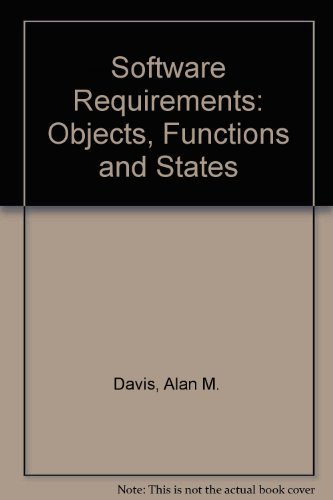 9780135621745: Software Requirements: Objects, Functions and States