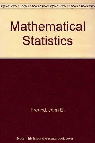 9780135622230: Mathematical Statistics