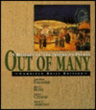 Out of Many : A History of: John MacK Faragher,