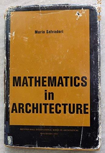 9780135625040: Mathematics in Architecture