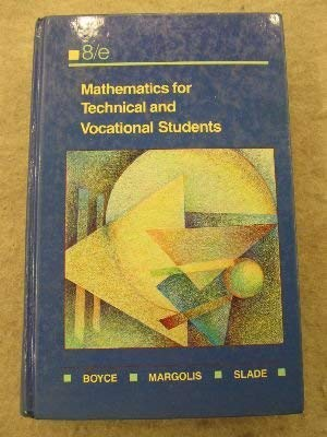 9780135631072: Mathematics for Technical and Vocational Students