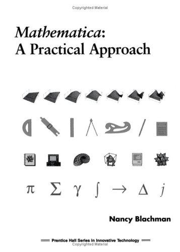 9780135638262: Mathematica: A Practical Approach