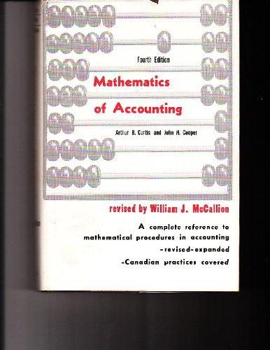 9780135639085: Mathematics of Accounting