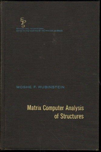 9780135654811: Matrix Computer Analysis of Structures