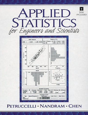 9780135659533: Applied Statistics for Scientists and Engineers
