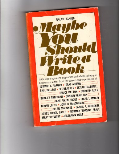 9780135663721: Maybe You Should Write a Book