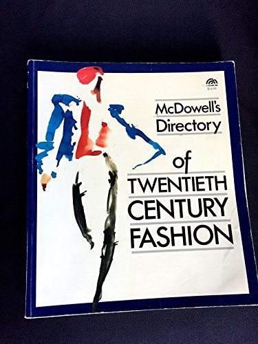9780135668450: McDowell's Directory of Twentieth Century Fashion