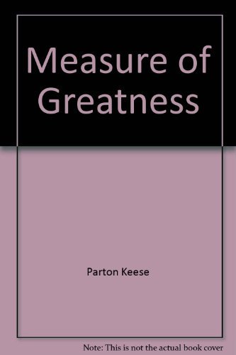 9780135678008: The measure of greatness: An inquiry into the unique traits and talents that set certain athletes apart from the rest of the field