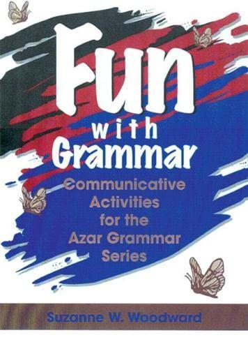 9780135679265: Fun with Grammar: Communicative Activities for the Azar Grammar Series: Beginner, Photocopiable (Azar English Grammar)