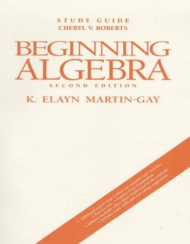 9780135684030: Beginning Algebra