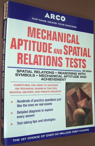 9780135689080: Mechanical aptitude and spatial relations tests (Arco Mechanical Aptitude & Spatial Relations Tests)