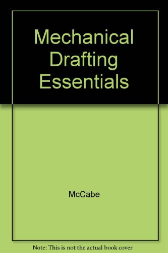 9780135689318: Mechanical Drafting Essentials