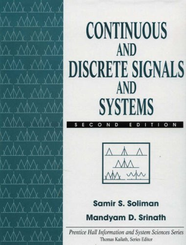 9780135691120: Continuous and Discrete Signals and Systems (Prentice Hall international editions)