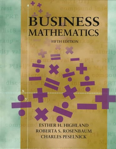 9780135691465: Business Mathematics (5th Edition)