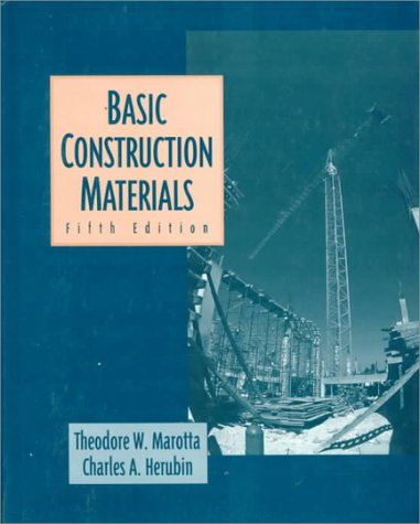 9780135701690: Basic Construction Materials: Methods and Testing