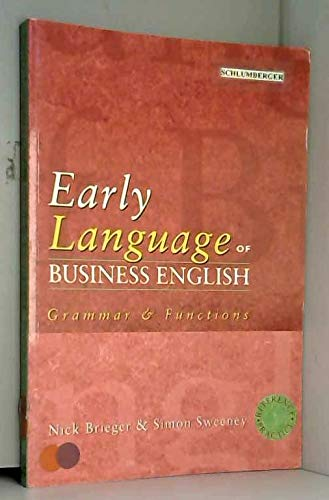 9780135705407: Early Language of Business English (Prentice-Hall International English Language Teaching)