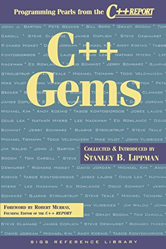 9780135705810: C++ Gems: Programming Pearls from The C++ Report (SIGS Reference Library)
