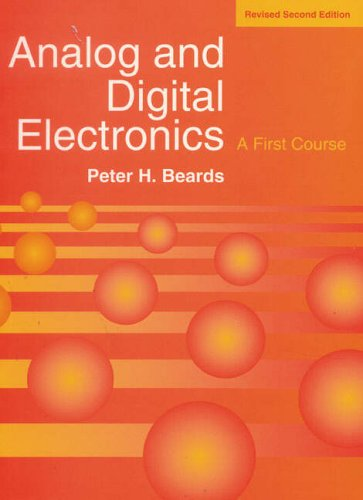 9780135717530: Analog Digital Electronics Revised Edn: A First Course